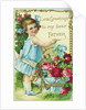Love Greetings to My Dear Father Postcard by Corbis