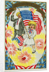 Hurrah! The Glorious 4th of July! Hurrah! Postcard by Corbis