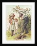 Illustration of Three Children by Alice Havers