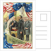Inauguration of Abraham Lincoln Postcard by Corbis