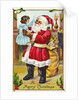 A Merry Christmas Greeting Postcard by Corbis