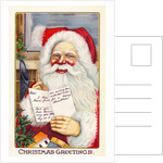 Christmas Greetings Postcard by Corbis
