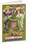 1776 Liberty Bell - 4th of July Postcard by Corbis