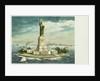 Statue of Liberty, New York Harbor Postcard by Corbis
