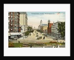 Pennsylvania Avenue, Washington, D.C. Postcard by Corbis