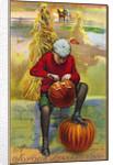 A Joyous Thanksgiving Postcard by Corbis