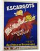 Escargots Menetrel Poster by Rudd