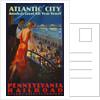 Atlantic City Pennsylvania Railroad Poster by Corbis