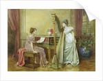 The Rehearsal by George Goodwin Kilburne