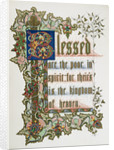 Blessed Are the Poor by Charles Rolt