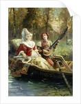 A Romantic Serenade by Cesare Agostino Detti
