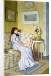 A Pensive Mood by Roger Jourdain