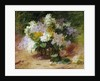 A Still Life of Lilacs by Georges Jennin