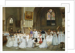 Confirmation at Villiers le Bel by Theophile Emmanuel Duverger