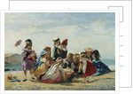 A Day at the Seaside by Timoleon Lobrichon