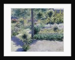 The Garden of the Hotel St. Antoine, Brasschart by Francis Nys
