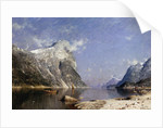 A Summer's Day on the Fjord by Adelsteen Normann