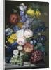 A Rich Still of Summer Flowers by Sebastien Wegmayr