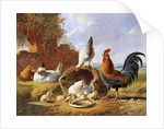 Spring Chickens by Albertus Verhoesen