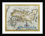 18th Century Map of Japan by Corbis