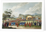 The Approach of the Emperor of China to His Tent in Tartar, to Receive the British Ambassador by William Alexander