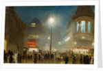 The Strand, London, at Theater Time by George Hyde-Pownall