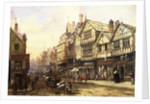 Bridge Street, Chester, England by Louise Rayner