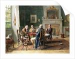 The Card Players by Gerard Jozef Portielje