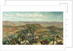 Plain of Esdraelon from Heights Above Nazareth, Israel by William Holman Hunt