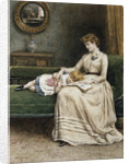 A Quiet Read by George Goodwin Kilburne