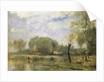 The Marshes of Arleux by Jean-Baptiste-Camille Corot