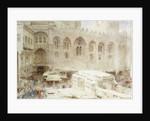 Cairo, In the Dust of the Bazaar by Albert Goodwin