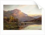 A View of Loch Lomond near Inversnaid, Scotland by Alfred de Breanski