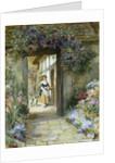 Through the Garden Door by George Sheridan Knowles