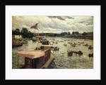 Henley Regatta, England by Alfred de Breanski