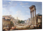 The Forum, Rome, Italy by Giovanni Paolo Panini