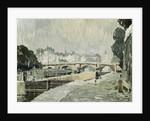 A View of the Seine, Paris by Paul Mathieu