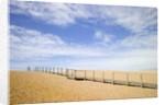 Boardwalk at Chesil Beach in Dorset by Corbis