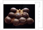 Chicken Egg and Dinosaur Eggs by Corbis