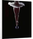 Ballerina Balancing on a Bubble by Corbis
