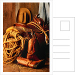 Cowboy's Riding Gear by Corbis