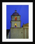 Bell Tower of the Santa Barbara Mission Church by Corbis