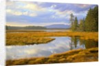 Bass Harbor Marsh and Western Mountain by Corbis