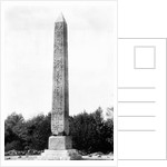 Cleopatra's Needle in Central Park by Corbis