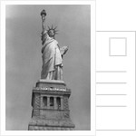 Statue of Liberty with Women's Rights Banner by Corbis