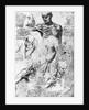Drawing of anatomical studies by Leonardo da Vinci