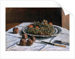 Grapes and Walnuts by Alfred Sisley