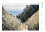 Road at La Cavee, Pourville by Claude Monet