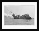 The Queen Elizabeth Rotts In Harbor by Corbis