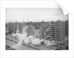 Building Being Demolished by Corbis